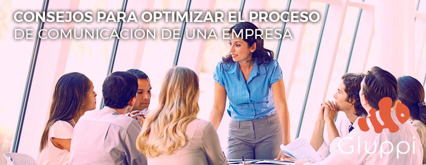 proceso de comunicación de una empresa