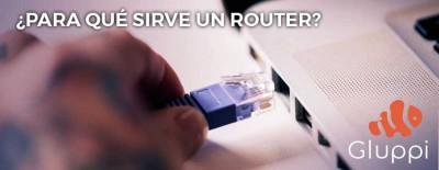 para que sirve un router